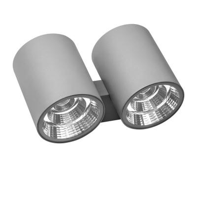 Уличный настенный светильник Lightstar 372694 ParoУличные настенные светильники<br>Крепление: a65; Внешние габариты: L152 W270 H150; Материал - основание/плафон: металл; Цвет-основание/плафон: серый; Лампа: LED 2*2*15W, Световой поток: 4700LM; Угол рассеивания: 40G; Встроенный транcформатор 4000К;<br><br>Цветовая t, К: 4000<br>Тип лампы: LED - светодиодная<br>Тип цоколя: LED, встроенные светодиоды<br>Цвет арматуры: серый<br>Количество ламп: 4<br>Ширина, мм: 270<br>Расстояние от стены, мм: 152<br>Высота, мм: 150<br>Поверхность арматуры: матовая<br>Оттенок (цвет): серый<br>MAX мощность ламп, Вт: 15
