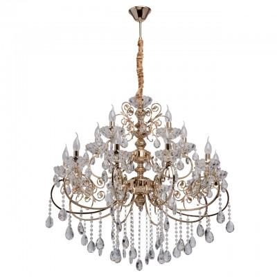 373014215 Mw light СветильникПодвесные<br><br><br>Установка на натяжной потолок: Да<br>S освещ. до, м2: 30<br>Тип лампы: Накаливания / энергосбережения / светодиодная<br>Тип цоколя: E14<br>Количество ламп: 15<br>Диаметр, мм мм: 880<br>Высота, мм: 1400<br>MAX мощность ламп, Вт: 40