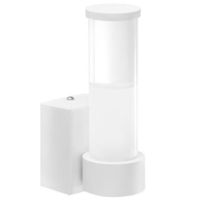 Светильник настенный Lightstar 373663 CALLEуличные настенные светильники<br>Высота (см): 15 ; Ширина (см): 5,2 ; Глубина (см): 8,5; Вес (кг): 0,40; Кол-во ламп: LED; Мощность max (W): 7; Световой поток: 560LM; Материал основания/плафон - металл/пластик; Цвет основания/цвет стекла или абажура: белый; 3000К<br><br>Крепление: планка<br>Цветовая t, К: 3000K<br>Тип лампы: LED - светодиодная<br>Тип цоколя: LED<br>Цвет арматуры: белый<br>Количество ламп: 1<br>Ширина, мм: 52<br>Диаметр, мм мм: 39<br>Размеры основания, мм: 52/35<br>Расстояние от стены, мм: 85<br>Высота, мм: 150<br>Поверхность арматуры: матовая<br>Оттенок (цвет): белый<br>MAX мощность ламп, Вт: 7<br>Общая мощность, Вт: 70