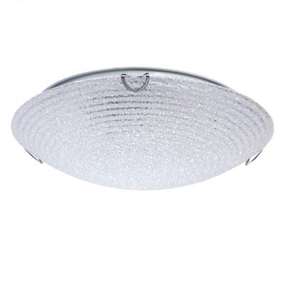 Светильник Mw-light 374015502Круглые<br>374015502 - это Настенно-потолочный светильник из коллекции «Премьера» радует глаз своей красотой. Металлическое основание выполнено из металла и гармонично дополнено округлым стеклянным плафоном с эффектом льдистого стекла и прозрачным рисунком в виде кругов, благодаря чему светильник выглядит особенно эффектно и прекрасно освежает интерьер.<br><br>S освещ. до, м2: 6<br>Тип лампы: накаливания / энергосбережения / LED-светодиодная<br>Тип цоколя: E27<br>Количество ламп: 2<br>MAX мощность ламп, Вт: 60<br>Диаметр, мм мм: 310<br>Высота, мм: 60