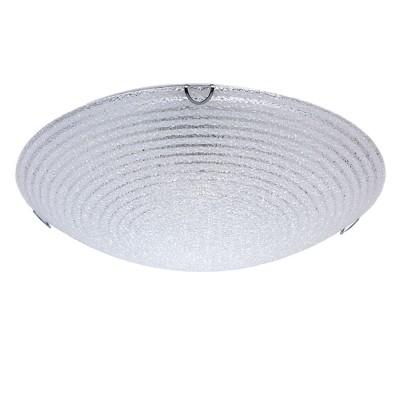 Светильник Mw-light 374015603Круглые<br>374015603 - это Настенно-потолочный светильник из коллекции «Премьера» радует глаз своей красотой. Металлическое основание выполнено из металла и гармонично дополнено округлым стеклянным плафоном с эффектом льдистого стекла и прозрачным рисунком в виде кругов, благодаря чему светильник выглядит особенно эффектно и прекрасно освежает интерьер.<br><br>S освещ. до, м2: 9<br>Тип лампы: накаливания / энергосбережения / LED-светодиодная<br>Тип цоколя: E27<br>Количество ламп: 3<br>MAX мощность ламп, Вт: 60<br>Диаметр, мм мм: 400<br>Высота, мм: 60