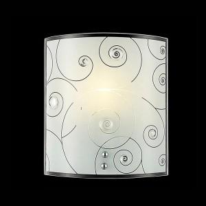 Светильник бра Евросвет 3745/1 хромНакладные<br><br><br>S освещ. до, м2: 4<br>Тип лампы: накаливания / энергосбережения / LED-светодиодная<br>Тип цоколя: E27<br>Количество ламп: 1<br>MAX мощность ламп, Вт: 60<br>Длина, мм: 170<br>Высота, мм: 190<br>Цвет арматуры: серебристый
