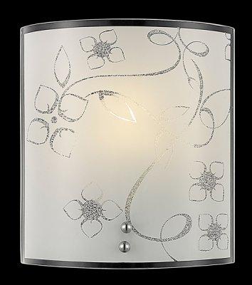 Светильник бра Евросвет 3762/1 хромНакладные<br><br><br>S освещ. до, м2: 4<br>Тип лампы: накаливания / энергосбережения / LED-светодиодная<br>Тип цоколя: E27<br>Количество ламп: 1<br>Ширина, мм: 170<br>MAX мощность ламп, Вт: 60<br>Длина, мм: 80<br>Высота, мм: 190<br>Цвет арматуры: серебристый