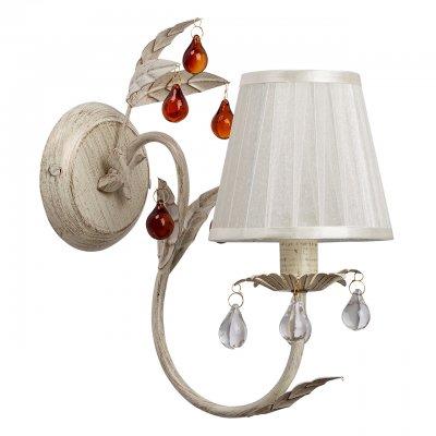Светильник настенный бра Mw light 379027701 Федерика02Флористика<br><br><br>S освещ. до, м2: 3<br>Тип лампы: накаливания / энергосбережения / LED-светодиодная<br>Тип цоколя: E14<br>Количество ламп: 1<br>Ширина, мм: 140<br>MAX мощность ламп, Вт: 60<br>Длина, мм: 320<br>Высота, мм: 280<br>Цвет арматуры: золотой<br>Общая мощность, Вт: 60