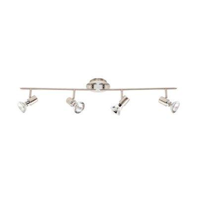 Светильник Brilliant 38032/77 StellaС 4 лампами<br>Светильники-споты – это оригинальные изделия с современным дизайном. Они позволяют не ограничивать свою фантазию при выборе освещения для интерьера. Такие модели обеспечивают достаточно качественный свет. Благодаря компактным размерам Вы можете использовать несколько спотов для одного помещения.  Интернет-магазин «Светодом» предлагает необычный светильник-спот Brilliant 38032/77 по привлекательной цене. Эта модель станет отличным дополнением к люстре, выполненной в том же стиле. Перед оформлением заказа изучите характеристики изделия.  Купить светильник-спот Brilliant 38032/77 в нашем онлайн-магазине Вы можете либо с помощью формы на сайте, либо по указанным выше телефонам. Обратите внимание, что у нас склады не только в Москве и Екатеринбурге, но и других городах России.<br><br>S освещ. до, м2: 10<br>Тип лампы: накал-я - энергосбер-я<br>Тип цоколя: E14<br>Количество ламп: 4<br>Ширина, мм: 880<br>MAX мощность ламп, Вт: 40<br>Выступ, мм: 160<br>Длина, мм: 880<br>Цвет арматуры: серебристый