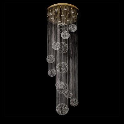 Люстра Chiaro 384012409 Каскад02Каскадные<br>Описание модели 384012409: Роскошь и оригинальность сочетаются в люстре из коллекции «Каскад». Она станет сказочным украшением современного интерьера. Золотистое металлическое основание дополнено струящимся водопадом декоративных хрустальных подвесов. Тонкие сияющие нити образуют драгоценные сферы из множества хрустальных капель. Такая люстра наполнит обстановку комнаты волшебным сиянием и блеском.<br><br>Установка на натяжной потолок: Да<br>S освещ. до, м2: 22<br>Крепление: Планка<br>Тип лампы: галогенная / LED-светодиодная<br>Тип цоколя: GU10<br>Количество ламп: 9<br>MAX мощность ламп, Вт: 50<br>Диаметр, мм мм: 660<br>Высота, мм: 2040<br>Цвет арматуры: золотой