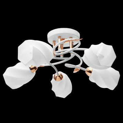 Люстра Idlamp 384/5PF WhitegoldАрхив<br>Компания «Светодом» предлагает широкий ассортимент люстр от известных производителей. Представленные в нашем каталоге товары выполнены из современных материалов и обладают отличным качеством. Благодаря широкому ассортименту Вы сможете найти у нас люстру под любой интерьер. Мы предлагаем как классические варианты, так и современные модели, отличающиеся лаконичностью и простотой форм.  Стильная люстра IDLamp 384/5PF-Whitegold станет украшением любого дома. Эта модель от известного производителя не оставит равнодушным ценителей красивых и оригинальных предметов интерьера. Люстра IDLamp 384/5PF-Whitegold обеспечит равномерное распределение света по всей комнате. При выборе обратите внимание на характеристики, позволяющие приобрести наиболее подходящую модель. Купить понравившуюся люстру по доступной цене Вы можете в интернет-магазине «Светодом».<br><br>Установка на натяжной потолок: Да<br>S освещ. до, м2: 20<br>Крепление: Планка<br>Тип цоколя: E14<br>Цвет арматуры: золотой<br>Количество ламп: 5<br>Диаметр, мм мм: 590<br>Высота, мм: 210<br>Оттенок (цвет): белый<br>MAX мощность ламп, Вт: 60
