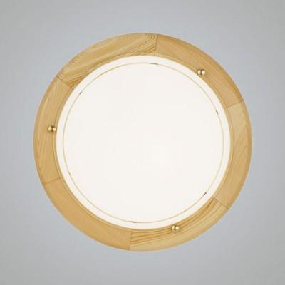 Eglo UFO 1 3890 Настенно-потолочный светильникКруглые<br>Настенно потолочный светильник Eglo (Эгло) 3890 подходит как для установки в вертикальном положении - на стены, так и для установки в горизонтальном - на потолок. Для установки настенно потолочных светильников на натяжной потолок необходимо использовать светодиодные лампы LED, которые экономнее ламп Ильича (накаливания) в 10 раз, выделяют мало тепла и не дадут расплавиться Вашему потолку.<br><br>S освещ. до, м2: 8<br>Тип лампы: накаливания / энергосбережения / LED-светодиодная<br>Тип цоколя: E27<br>Цвет арматуры: деревянный<br>Количество ламп: 2<br>Диаметр, мм мм: 310<br>Размеры основания, мм: 0<br>Оттенок (цвет): белый, прозрачный<br>MAX мощность ламп, Вт: 2<br>Общая мощность, Вт: 1X60W