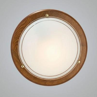 Eglo UFO 1 3891 Настенно-потолочный светильникКруглые<br>Настенно потолочный светильник Eglo (Эгло) 3891  подходит как для установки в вертикальном положении - на стены, так и для установки в горизонтальном - на потолок. Для установки настенно потолочных светильников на натяжной потолок необходимо использовать светодиодные лампы LED, которые экономнее ламп Ильича (накаливания) в 10 раз, выделяют мало тепла и не дадут расплавиться Вашему потолку.<br><br>S освещ. до, м2: 4<br>Тип лампы: накаливания / энергосбережения / LED-светодиодная<br>Тип цоколя: E27<br>Цвет арматуры: деревянный<br>Количество ламп: 1<br>Диаметр, мм мм: 310<br>Размеры основания, мм: 0<br>Оттенок (цвет): белый, прозрачный<br>MAX мощность ламп, Вт: 2<br>Общая мощность, Вт: 1X60W
