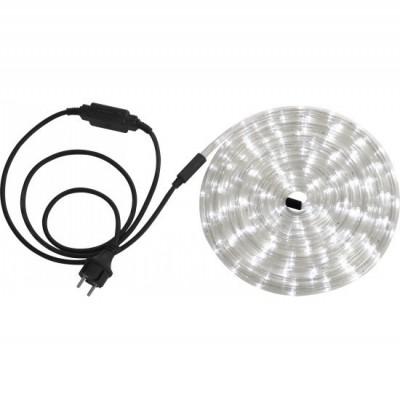 Светодиодная лента Globo 38961 (6м) Light TubeИнтерьерная<br><br><br>Цветовая t, К: 5500 холодный белый<br>Тип лампы: LED - светодиодная<br>Тип цоколя: LED<br>Количество ламп: 144<br>MAX мощность ламп, Вт: LED<br>Диаметр, мм мм: 10<br>Длина, мм: 6000<br>Оттенок (цвет): белый