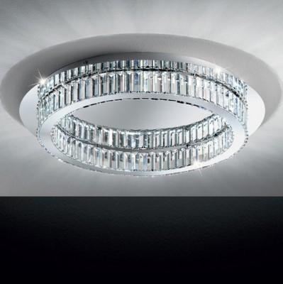 Eglo CORLIANO 39014 Светодиодный потолочный светильникПотолочные<br>Компания «Светодом» предлагает широкий ассортимент люстр от известных производителей. Представленные в нашем каталоге товары выполнены из современных материалов и обладают отличным качеством. Благодаря широкому ассортименту Вы сможете найти у нас люстру под любой интерьер. Мы предлагаем как классические варианты, так и современные модели, отличающиеся лаконичностью и простотой форм.   Стильная люстра Eglo 39014 станет украшением любого дома. Эта модель от известного производителя не оставит равнодушным ценителей красивых и оригинальных предметов интерьера. Люстра Eglo 39014 обеспечит равномерное распределение света по всей комнате. При выборе обратите внимание на характеристики, позволяющие приобрести наиболее подходящую модель.   Купить понравившуюся люстру по доступной цене Вы можете в интернет-магазине «Светодом».<br><br>Установка на натяжной потолок: Да<br>S освещ. до, м2: 14<br>Тип лампы: LED - светодиодная<br>Тип цоколя: LED<br>Количество ламп: 1<br>MAX мощность ламп, Вт: 36<br>Диаметр, мм мм: 700<br>Высота, мм: 110