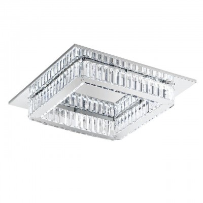 Eglo CORLIANO 39016 Светодиодный потолочный светильникПотолочные<br>Компания «Светодом» предлагает широкий ассортимент люстр от известных производителей. Представленные в нашем каталоге товары выполнены из современных материалов и обладают отличным качеством. Благодаря широкому ассортименту Вы сможете найти у нас люстру под любой интерьер. Мы предлагаем как классические варианты, так и современные модели, отличающиеся лаконичностью и простотой форм.   Стильная люстра Eglo 39016 станет украшением любого дома. Эта модель от известного производителя не оставит равнодушным ценителей красивых и оригинальных предметов интерьера. Люстра Eglo 39016 обеспечит равномерное распределение света по всей комнате. При выборе обратите внимание на характеристики, позволяющие приобрести наиболее подходящую модель.   Купить понравившуюся люстру по доступной цене Вы можете в интернет-магазине «Светодом».<br><br>Установка на натяжной потолок: Да<br>S освещ. до, м2: 10<br>Тип лампы: LED - светодиодная<br>Тип цоколя: LED<br>Количество ламп: 1<br>Ширина, мм: 500<br>Длина, мм: 500<br>Высота, мм: 110<br>MAX мощность ламп, Вт: 24