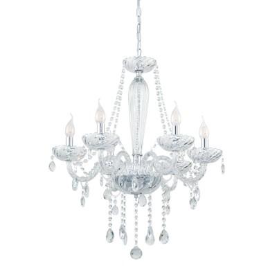 39099 Eglo - Люстра BASILANO 1Подвесные<br><br><br>Установка на натяжной потолок: Да<br>S освещ. до, м2: 12<br>Тип лампы: Накаливания / энергосбережения / светодиодная<br>Тип цоколя: E14<br>Количество ламп: 6<br>Диаметр, мм мм: 720<br>Высота, мм: 1200<br>MAX мощность ламп, Вт: 40