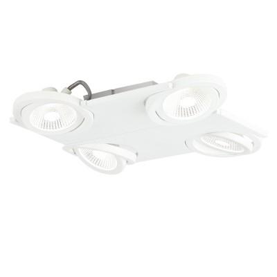 Eglo BREA 39136 Светодиодный спотС 4 лампами<br>Светильники-споты – это оригинальные изделия с современным дизайном. Они позволяют не ограничивать свою фантазию при выборе освещения для интерьера. Такие модели обеспечивают достаточно качественный свет. Благодаря компактным размерам Вы можете использовать несколько спотов для одного помещения.  Интернет-магазин «Светодом» предлагает необычный светильник-спот Eglo 39136 по привлекательной цене. Эта модель станет отличным дополнением к люстре, выполненной в том же стиле. Перед оформлением заказа изучите характеристики изделия.  Купить светильник-спот Eglo 39136 в нашем онлайн-магазине Вы можете либо с помощью формы на сайте, либо по указанным выше телефонам. Обратите внимание, что у нас склады не только в Москве и Екатеринбурге, но и других городах России.<br><br>S освещ. до, м2: 8<br>Цветовая t, К: 3000<br>Тип лампы: LED - светодиодная<br>Тип цоколя: LED<br>Количество ламп: 4<br>Ширина, мм: 370<br>Длина, мм: 370<br>MAX мощность ламп, Вт: 5