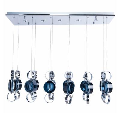 Люстра с пультом  Regenbogen life 392013717 ФьюженПотолочные<br>12*20W G4+5*3W LED 12 V люстра (пульт)<br><br>S освещ. до, м2: 20<br>Тип лампы: галогенная/LED<br>Тип цоколя: G4<br>Количество ламп: 12<br>Ширина, мм: 320<br>MAX мощность ламп, Вт: 20<br>Высота, мм: 290 - 1250