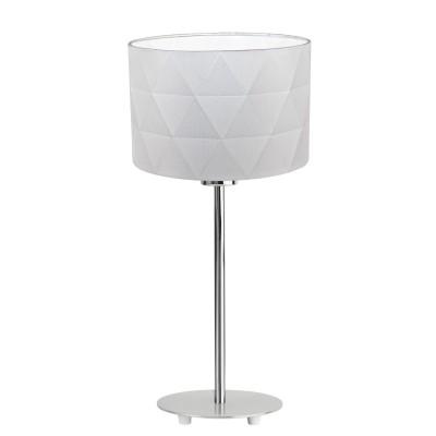 Eglo DOLORITA 39222 Настольная лампаСовременные<br>Настольная лампа – это не просто источник дополнительного освещения, но и оригинальный элемент декора. Его можно установить в спальне, гостиной, кабинете и других комнатах. Интернет-магазин «Светодом» предлагает настольные лампы разных стилей по доступным ценам. Благодаря большому ассортименту Вы обязательно найдете в нашем каталоге именно ту модель, которую искали.   Настольная лампа Eglo 39222 – прекрасный вариант для завершения интерьера. Ее можно включить одновременно с люстрой для более яркого освещения или без нее для создания уютной атмосферы, настраивающей на отдых.   Купить настольную лампу Eglo 39222 Вы можете с помощью виртуальной «Корзины» или по контактным номерам, указанным на сайте.<br><br>Тип лампы: Накаливания / энергосбережения / светодиодная<br>Тип цоколя: E27<br>Количество ламп: 1<br>MAX мощность ламп, Вт: 60<br>Диаметр, мм мм: 250<br>Высота, мм: 455