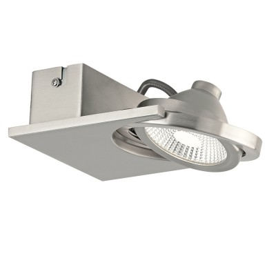 Eglo BREA 39247 Светодиодный спотОдиночные<br>Светильники-споты – это оригинальные изделия с современным дизайном. Они позволяют не ограничивать свою фантазию при выборе освещения для интерьера. Такие модели обеспечивают достаточно качественный свет. Благодаря компактным размерам Вы можете использовать несколько спотов для одного помещения.  Интернет-магазин «Светодом» предлагает необычный светильник-спот Eglo 39247 по привлекательной цене. Эта модель станет отличным дополнением к люстре, выполненной в том же стиле. Перед оформлением заказа изучите характеристики изделия.  Купить светильник-спот Eglo 39247 в нашем онлайн-магазине Вы можете либо с помощью формы на сайте, либо по указанным выше телефонам. Обратите внимание, что у нас склады не только в Москве и Екатеринбурге, но и других городах России.<br><br>S освещ. до, м2: 2<br>Цветовая t, К: 3000<br>Тип лампы: LED - светодиодная<br>Количество ламп: 1<br>Ширина, мм: 140<br>Длина, мм: 140<br>MAX мощность ламп, Вт: 5
