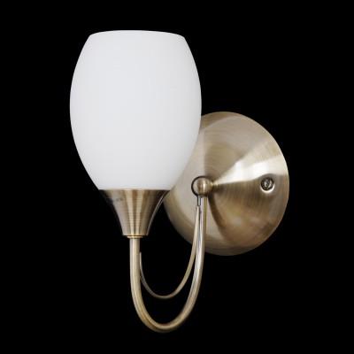 Светильник бра Lamplandia 3926-1 MarsСовременные<br>Бра. Традиционная модель. Выполнена из металлического основания- ацветантичная бронза со стеклянными плафонами матового цвета. Замечательно вписывается в любой интерьер.<br><br>S освещ. до, м2: 2<br>Крепление: настенный<br>Тип лампы: накаливания / энергосбережения / LED-светодиодная<br>Тип цоколя: E14<br>Количество ламп: 1<br>Ширина, мм: 280<br>MAX мощность ламп, Вт: 40<br>Длина, мм: 120<br>Высота, мм: 230<br>Цвет арматуры: бронзовый