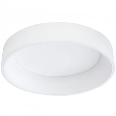 Eglo MARGHERA 39287 Светодиодный потолочный светильникКруглые<br><br><br>Установка на натяжной потолок: Да<br>S освещ. до, м2: 174<br>Крепление: планка<br>Цветовая t, К: 3000К<br>Тип лампы: LED - светодиодная<br>Количество ламп: 4<br>Диаметр, мм мм: 595<br>Высота полная, мм: 135<br>Оттенок (цвет): белый<br>MAX мощность ламп, Вт: 8,5<br>Общая мощность, Вт: 34