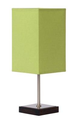 настольная лампа Lucide 39502/01/85 DUNA -TOUCHЗеленые настольные лампы<br>Настольная лампа – это не просто источник дополнительного освещения, но и оригинальный элемент декора. Его можно установить в спальне, гостиной, кабинете и других комнатах. Интернет-магазин «Светодом» предлагает настольные лампы разных стилей по доступным ценам. Благодаря большому ассортименту Вы обязательно найдете в нашем каталоге именно ту модель, которую искали.   Настольная лампа Lucide 39502/01/85 – прекрасный вариант для завершения интерьера. Ее можно включить одновременно с люстрой для более яркого освещения или без нее для создания уютной атмосферы, настраивающей на отдых.   Купить настольную лампу Lucide 39502/01/85 Вы можете с помощью виртуальной «Корзины» или по контактным номерам, указанным на сайте.<br><br>S освещ. до, м2: 2<br>Тип лампы: накал-я - энергосбер-я<br>Тип цоколя: E14<br>Цвет арматуры: серый<br>Количество ламп: 1<br>Ширина, мм: 120<br>Длина, мм: 120<br>Высота, мм: 345/200<br>Оттенок (цвет): зеленый<br>MAX мощность ламп, Вт: 40