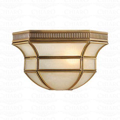 Светильник настенный бра Chiaro 397020301 МаркизТиффани<br>Описание модели 397020301: Основание светильника из коллекции Маркиз изготовлено из благородной латуни, которая слегка патинирована для создания  эффекта стариного изделия. Матовое стекло плафона собирает лучи света в мягкое, почти сказочное сияние.<br><br>S освещ. до, м2: 2<br>Тип лампы: накаливания / энергосбережения / LED-светодиодная<br>Тип цоколя: E27<br>Цвет арматуры: латунь<br>Количество ламп: 1<br>Ширина, мм: 140<br>Длина, мм: 230<br>Высота, мм: 120<br>Поверхность арматуры: глянцевый<br>MAX мощность ламп, Вт: 40