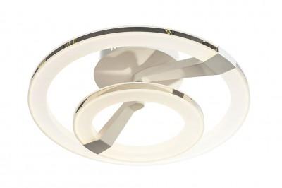 Потолочный светильник Idlamp 397/2PF LEDWhitechromeлюстры хай тек потолочные<br>Компания «Светодом» предлагает широкий ассортимент люстр от известных производителей. Представленные в нашем каталоге товары выполнены из современных материалов и обладают отличным качеством. Благодаря широкому ассортименту Вы сможете найти у нас люстру под любой интерьер. Мы предлагаем как классические варианты, так и современные модели, отличающиеся лаконичностью и простотой форм.  Стильная люстра IDLamp 397/2PF-LEDWhitechrome станет украшением любого дома. Эта модель от известного производителя не оставит равнодушным ценителей красивых и оригинальных предметов интерьера. Люстра IDLamp 397/2PF-LEDWhitechrome обеспечит равномерное распределение света по всей комнате. При выборе обратите внимание на характеристики, позволяющие приобрести наиболее подходящую модель. Купить понравившуюся люстру по доступной цене Вы можете в интернет-магазине «Светодом».<br><br>Установка на натяжной потолок: Да<br>S освещ. до, м2: 18<br>Крепление: Потолочные<br>Тип цоколя: LED<br>Цвет арматуры: Белый + хром<br>Количество ламп: 2<br>Диаметр, мм мм: 480<br>Высота, мм: 190<br>MAX мощность ламп, Вт: 45