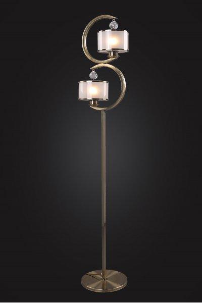 Торшер Классика 4-4212-2-AB E27 Максисветклассические торшеры<br><br><br>S освещ. до, м2: 6<br>Тип лампы: Накаливания / энергосбережения / светодиодная<br>Тип цоколя: E27<br>Цвет арматуры: Бронза<br>Ширина, мм: 150<br>Высота полная, мм: 1540<br>Длина, мм: 280