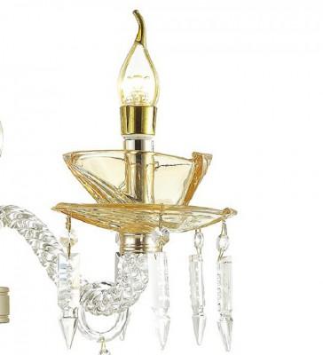 Настенный светильник Odeon light 4005/1W TELMAклассические бра<br>Удивительная модель 4005/1W от фабрики Odeon light (Италия) серии TELMA представляет собой настенный светильник, выполненный по технически выверенным чертежам и эскизам итальянских дизайнеров. Подходит как для бытового, так и для общественного использования со стандартными и диодными лампами.
