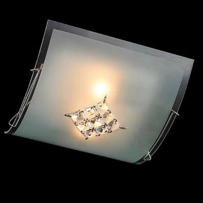 Светильник Евросвет 40071/2 хромКвадратные<br><br><br>S освещ. до, м2: 6<br>Тип лампы: Накаливания / энергосбережения / светодиодная<br>Тип цоколя: E27<br>Количество ламп: 2<br>Ширина, мм: 340<br>MAX мощность ламп, Вт: 60<br>Длина, мм: 340<br>Высота, мм: 120<br>Цвет арматуры: серебристый