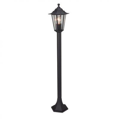 Светильник уличный Brilliant 40285/06 CrownОдиночные столбы<br>Зачастую мы ищем идеальное освещение для своего дома и уделяем этому достаточно много времени. Так, например, если нам нужен светильник с количеством ламп - 1 и цвет плафонов должен быть - черный, а материал плафонов только стекло! То нам, как вариант, подойдет модель - светильник уличный Brilliant 40285/06.<br><br>S освещ. до, м2: до 4<br>Тип лампы: накаливания / энергосбережения / LED-светодиодная<br>Тип цоколя: E27<br>Количество ламп: 1<br>MAX мощность ламп, Вт: 60<br>Диаметр, мм мм: 240<br>Высота, мм: 960<br>Цвет арматуры: черный