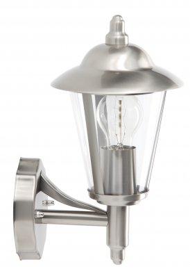 Светильник уличный Brilliant 40381/82 NeilНастенные<br>Зачастую мы ищем идеальное освещение для своего дома и уделяем этому достаточно много времени. Так, например, если нам нужен светильник с количеством ламп - 1 и цвет плафонов должен быть - неокрашенный, а материал плафонов только полимер! То нам, как вариант, подойдет модель - светильник уличный Brilliant 40381/82.<br><br>S освещ. до, м2: до 4<br>Тип лампы: накаливания / энергосбережения / LED-светодиодная<br>Тип цоколя: E27<br>Цвет арматуры: серебристый<br>Количество ламп: 1<br>Высота, мм: 320<br>MAX мощность ламп, Вт: 60