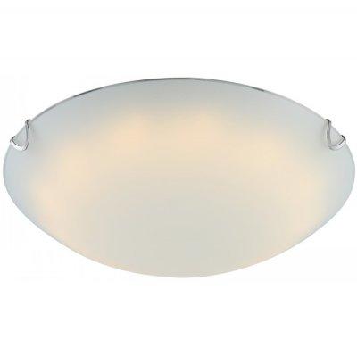 Светильник Globo 40422 PalilaКруглые<br><br><br>Тип товара: Светильник настенно-потолочный<br>Скидка, %: 80<br>Тип лампы: галогенная / LED-светодиодная<br>Тип цоколя: LED<br>Количество ламп: 1<br>Ширина, мм: 300<br>MAX мощность ламп, Вт: 12<br>Длина, мм: 300<br>Высота, мм: 90<br>Цвет арматуры: серебристый