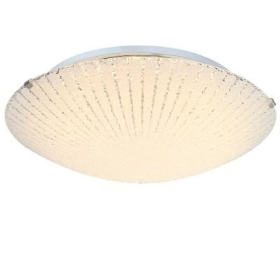 Светильник Globo 40447Круглые<br>Настенно-потолочные светильники – это универсальные осветительные варианты, которые подходят для вертикального и горизонтального монтажа. В интернет-магазине «Светодом» Вы можете приобрести подобные модели по выгодной стоимости. В нашем каталоге представлены как бюджетные варианты, так и эксклюзивные изделия от производителей, которые уже давно заслужили доверие дизайнеров и простых покупателей.  Настенно-потолочный светильник Globo 40447 станет прекрасным дополнением к основному освещению. Благодаря качественному исполнению и применению современных технологий при производстве эта модель будет радовать Вас своим привлекательным внешним видом долгое время. Приобрести настенно-потолочный светильник Globo 40447 можно, находясь в любой точке России.<br><br>S освещ. до, м2: 5<br>Цветовая t, К: 3100<br>Тип лампы: LED<br>Тип цоколя: LED<br>Цвет арматуры: серебристый<br>Количество ламп: 1<br>Диаметр, мм мм: 300<br>Высота, мм: 100<br>MAX мощность ламп, Вт: 12