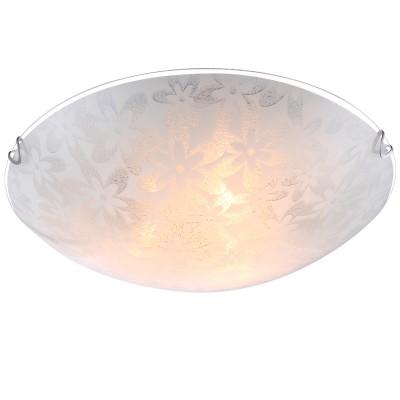 Светильник Globo 40463-3Круглые<br><br><br>S освещ. до, м2: 9<br>Тип товара: Светильник настенно-потолочный<br>Скидка, %: 21<br>Тип лампы: Накаливания / энергосбережения / светодиодная<br>Тип цоколя: E27<br>Количество ламп: 3<br>MAX мощность ламп, Вт: 60<br>Диаметр, мм мм: 400<br>Высота, мм: 100<br>Цвет арматуры: серебристый