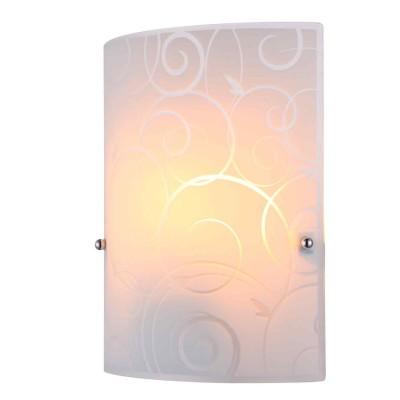 Светильник Globo 40491-1WНакладные<br><br><br>Тип товара: Светильник настенно-потолочный<br>Тип лампы: Накаливания / энергосбережения / светодиодная<br>Тип цоколя: E27<br>Количество ламп: 1<br>Ширина, мм: 80<br>MAX мощность ламп, Вт: 60<br>Длина, мм: 200<br>Высота, мм: 260<br>Цвет арматуры: серебристый