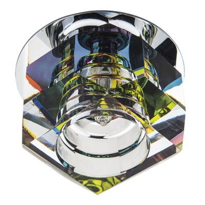 Светильник Lightstar 4061 ROMBхрустальные встраиваемые светильники<br>Встраиваемые светильники – популярное осветительное оборудование, которое можно использовать в качестве основного источника или в дополнение к люстре. Они позволяют создать нужную атмосферу атмосферу и привнести в интерьер уют и комфорт. <br> Интернет-магазин «Светодом» предлагает стильный встраиваемый светильник Lightstar 4061. Данная модель достаточно универсальна, поэтому подойдет практически под любой интерьер. Перед покупкой не забудьте ознакомиться с техническими параметрами, чтобы узнать тип цоколя, площадь освещения и другие важные характеристики. <br> Приобрести встраиваемый светильник Lightstar 4061 в нашем онлайн-магазине Вы можете либо с помощью «Корзины», либо по контактным номерам. Мы развозим заказы по Москве, Екатеринбургу и остальным российским городам.<br><br>Крепление: Пружинное<br>Тип лампы: галогенная/LED<br>Тип цоколя: G4<br>Цвет арматуры: серебристый<br>Количество ламп: 1<br>Диаметр, мм мм: 70<br>Высота полная, мм: 50<br>Размеры: Диаметр вырезного отверстия<br>Диаметр врезного отверстия, мм: 55<br>Поверхность арматуры: глянцевая<br>Оттенок (цвет): серебристый хром<br>MAX мощность ламп, Вт: 35