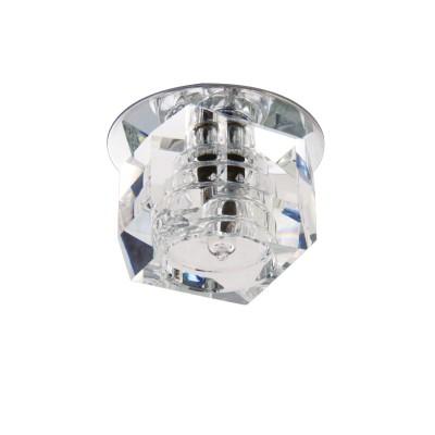 Lightstar ROMB 4064 СветильникХрустальные<br>Встраиваемые светильники – популярное осветительное оборудование, которое можно использовать в качестве основного источника или в дополнение к люстре. Они позволяют создать нужную атмосферу атмосферу и привнести в интерьер уют и комфорт. <br> Интернет-магазин «Светодом» предлагает стильный встраиваемый светильник Lightstar 4064. Данная модель достаточно универсальна, поэтому подойдет практически под любой интерьер. Перед покупкой не забудьте ознакомиться с техническими параметрами, чтобы узнать тип цоколя, площадь освещения и другие важные характеристики. <br> Приобрести встраиваемый светильник Lightstar 4064 в нашем онлайн-магазине Вы можете либо с помощью «Корзины», либо по контактным номерам. Мы развозим заказы по Москве, Екатеринбургу и остальным российским городам.<br><br>Тип лампы: галогенная/LED<br>Тип цоколя: G4<br>Цвет арматуры: серебристый<br>Количество ламп: 1<br>Размеры: Диаметр вырезного отверстия<br>MAX мощность ламп, Вт: 35
