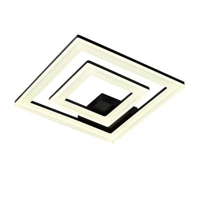 Светильник Idlamp 407/2PF-LEDBlack SeviliaКвадратные<br>Настенно-потолочные светильники – это универсальные осветительные варианты, которые подходят для вертикального и горизонтального монтажа. В интернет-магазине «Светодом» Вы можете приобрести подобные модели по выгодной стоимости. В нашем каталоге представлены как бюджетные варианты, так и эксклюзивные изделия от производителей, которые уже давно заслужили доверие дизайнеров и простых покупателей.  Настенно-потолочный светильник IDLamp 407/2PF-LEDBlack станет прекрасным дополнением к основному освещению. Благодаря качественному исполнению и применению современных технологий при производстве эта модель будет радовать Вас своим привлекательным внешним видом долгое время. Приобрести настенно-потолочный светильник IDLamp 407/2PF-LEDBlack можно, находясь в любой точке России.<br><br>S освещ. до, м2: 27<br>Крепление: Потолочные<br>Тип лампы: LED<br>Тип цоколя: LED<br>Количество ламп: 2<br>Ширина, мм: 500<br>Длина, мм: 500<br>Высота, мм: 100<br>MAX мощность ламп, Вт: 67