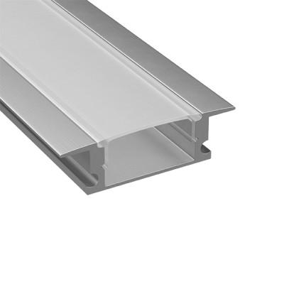 Встраиваемый профиль для светодиодной ленты Lightstar 409309Встраиваемый профиль<br><br><br>Длина, мм: 300
