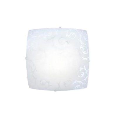 Светильник Globo 40980 CedricКвадратные<br>Настенно-потолочные светильники – это универсальные осветительные варианты, которые подходят для вертикального и горизонтального монтажа. В интернет-магазине «Светодом» Вы можете приобрести подобные модели по выгодной стоимости. В нашем каталоге представлены как бюджетные варианты, так и эксклюзивные изделия от производителей, которые уже давно заслужили доверие дизайнеров и простых покупателей.  Настенно-потолочный светильник Globo 40980 станет прекрасным дополнением к основному освещению. Благодаря качественному исполнению и применению современных технологий при производстве эта модель будет радовать Вас своим привлекательным внешним видом долгое время.  Приобрести настенно-потолочный светильник Globo 40980 можно, находясь в любой точке России. Компания «Светодом» осуществляет доставку заказов не только по Москве и Екатеринбургу, но и в остальные города.<br><br>S освещ. до, м2: 4<br>Тип лампы: накаливания / энергосбережения / LED-светодиодная<br>Тип цоколя: E27 ILLU<br>Количество ламп: 1<br>Ширина, мм: 250<br>MAX мощность ламп, Вт: 60<br>Длина, мм: 250<br>Расстояние от стены, мм: 65<br>Высота, мм: 85<br>Оттенок (цвет): белый<br>Цвет арматуры: серебристый