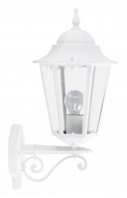 Светильник уличный Brilliant 40981/05 CornwallНастенные<br>Зачастую мы ищем идеальное освещение для своего дома и уделяем этому достаточно много времени. Так, например, если нам нужен светильник с количеством ламп - 1 и цвет плафонов должен быть - белый, а материал плафонов только стекло! То нам, как вариант, подойдет модель - светильник уличный Brilliant 40981/05.<br><br>S освещ. до, м2: до 4<br>Тип товара: Светильник уличный<br>Тип лампы: накаливания / энергосбережения / LED-светодиодная<br>Тип цоколя: E27<br>Количество ламп: 1<br>MAX мощность ламп, Вт: 60<br>Диаметр, мм мм: 250<br>Высота, мм: 500<br>Цвет арматуры: белый