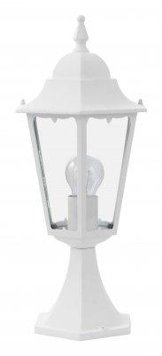 Светильник уличный Brilliant 40984/05 CornwallФонари на столб<br>Зачастую мы ищем идеальное освещение для своего дома и уделяем этому достаточно много времени. Так, например, если нам нужен светильник с количеством ламп - 1 и цвет плафонов должен быть - неокрашенный, а материал плафонов только стекло! То нам, как вариант, подойдет модель - светильник уличный Brilliant 40984/05.<br><br>S освещ. до, м2: до 4<br>Тип лампы: накаливания / энергосбережения / LED-светодиодная<br>Тип цоколя: E27<br>Количество ламп: 1<br>MAX мощность ламп, Вт: 60<br>Диаметр, мм мм: 190<br>Высота, мм: 460<br>Цвет арматуры: белый
