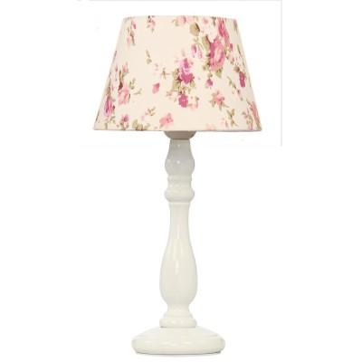 Настольная лампа - основание для настольной лампы Lamplandia 41-649 ROMANCEСовременные<br>Вид светильника: настольный<br>Размер: 18 x 18 x 36<br>Мощность: 1*E27*40W<br>Материал: Металл, Ткань<br><br>Крепление: настольный<br>Тип цоколя: E27<br>Количество ламп: 1<br>MAX мощность ламп, Вт: 40<br>Диаметр, мм мм: 180<br>Высота, мм: 360