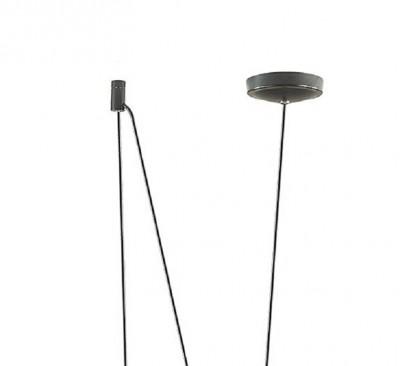 Подвес Odeon light 4104/1 FOKSодиночные подвесные светильники<br>Динамичный дизайн серии Foks станет ярким акцентом в дизайне интерьера. Металлические плафоны имеют приятную цилиндрическую форму и крепятся к потолку с помощью длинных регулируемых тросов. Благодаря регулируемой высоте подвесов, данная серия будет оптимальной для помещений с любой высотой потолков. А эффектное сочетание цветов будет выигрышно смотреться в монохромном интерьере в скандинавском или индустриальном стиле