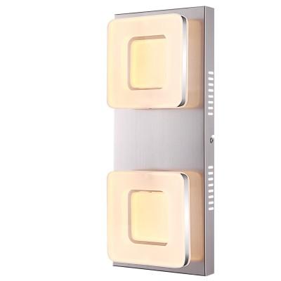 Светильник Globo 41109-2Прямоугольные<br>Настенно-потолочные светильники – это универсальные осветительные варианты, которые подходят для вертикального и горизонтального монтажа. В интернет-магазине «Светодом» Вы можете приобрести подобные модели по выгодной стоимости. В нашем каталоге представлены как бюджетные варианты, так и эксклюзивные изделия от производителей, которые уже давно заслужили доверие дизайнеров и простых покупателей.  Настенно-потолочный светильник Globo 41109-2 станет прекрасным дополнением к основному освещению. Благодаря качественному исполнению и применению современных технологий при производстве эта модель будет радовать Вас своим привлекательным внешним видом долгое время. Приобрести настенно-потолочный светильник Globo 41109-2 можно, находясь в любой точке России. Компания «Светодом» осуществляет доставку заказов не только по Москве и Екатеринбургу, но и в остальные города.<br><br>S освещ. до, м2: 14<br>Тип лампы: LED<br>Тип цоколя: LED<br>Количество ламп: 2<br>Ширина, мм: 75<br>MAX мощность ламп, Вт: 18<br>Длина, мм: 180<br>Высота, мм: 430<br>Цвет арматуры: серый
