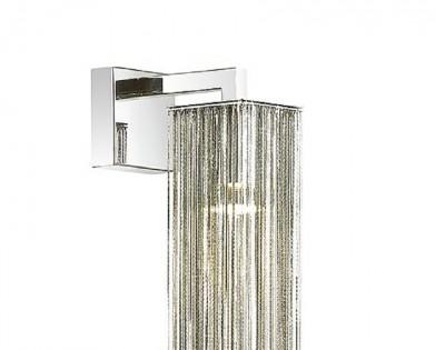 Бра Odeon light 4138/1W LUIGIсовременные бра модерн<br>Дизайн серии Luigi выполнен в классическом стиле, но актуален для модных, современных интерьеров. Плафон состоит из множества тонких металлических цепочек, способных приглушить яркий свет. Такой светильник идеально подойдет для подсветки определенных зон, создаст нужную, приятную и загадочную атмосферу