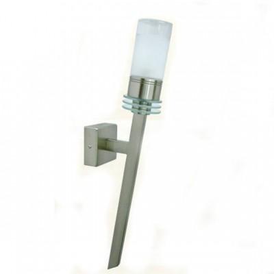 Светильник бра факел Globo 41520WМодерн<br><br><br>S освещ. до, м2: 2<br>Тип товара: Светильник настенный бра<br>Скидка, %: 15<br>Тип лампы: галогенная<br>Тип цоколя: G9<br>Количество ламп: 1<br>Ширина, мм: 65<br>MAX мощность ламп, Вт: 40W<br>Расстояние от стены, мм: 125<br>Высота, мм: 430<br>Цвет арматуры: серебристый никель/хром