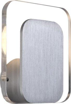 Светильник бра Globo 41536 IsaacХай-тек<br><br><br>S освещ. до, м2: 2<br>Тип лампы: LED - светодиодная<br>Тип цоколя: LED<br>Цвет арматуры: серый<br>Количество ламп: 1<br>Ширина, мм: 120<br>Длина, мм: 110<br>Высота, мм: 120<br>MAX мощность ламп, Вт: 3