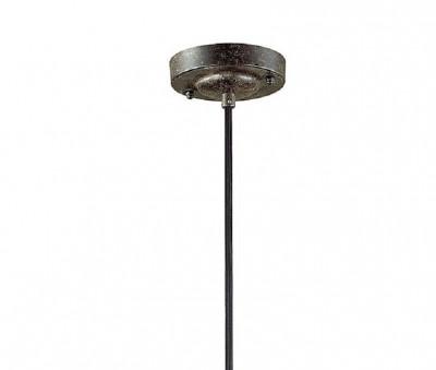 Уличный светильник-подвес IP23 Odeon light 4164/1 DANTEподвесные уличные светильники<br>Серия Dante выполнена в классическом стиле. Основание светильника изготовлено из металла и окрашено в коричневый цвет с вкраплениями, имитирующими застарелую ржавчину. Плафон состоит из круглого металлического козырька и стеклянного рассеивателя, снаружи защищенного декоративной металлической решеткой. Форма светильника, напоминающая старинный корабельный фонарь, пользуется популярностью и по сей день. Светильники идеально подойдут для организации освещения придомовой территории в классическом стиле