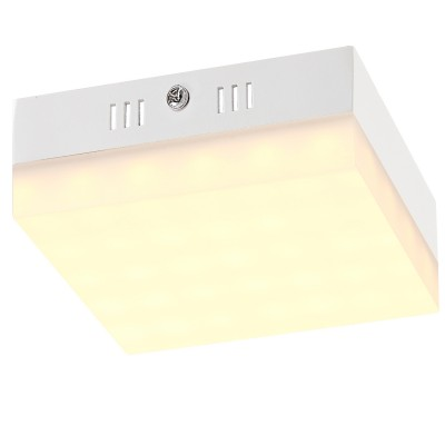 Светильник светодиодный Globo 41651Квадратные<br>Настенно-потолочные светильники – это универсальные осветительные варианты, которые подходят для вертикального и горизонтального монтажа. В интернет-магазине «Светодом» Вы можете приобрести подобные модели по выгодной стоимости. В нашем каталоге представлены как бюджетные варианты, так и эксклюзивные изделия от производителей, которые уже давно заслужили доверие дизайнеров и простых покупателей.  Настенно-потолочный светильник Globo 41651 станет прекрасным дополнением к основному освещению. Благодаря качественному исполнению и применению современных технологий при производстве эта модель будет радовать Вас своим привлекательным внешним видом долгое время.  Приобрести настенно-потолочный светильник Globo 41651 можно, находясь в любой точке России. Компания «Светодом» осуществляет доставку заказов не только по Москве и Екатеринбургу, но и в остальные города.<br><br>Установка на натяжной потолок: Да<br>S освещ. до, м2: 8<br>Крепление: Планка<br>Тип лампы: LED<br>Тип цоколя: LED<br>Количество ламп: 1<br>Ширина, мм: 120<br>MAX мощность ламп, Вт: 12<br>Высота, мм: 45<br>Цвет арматуры: серебристый